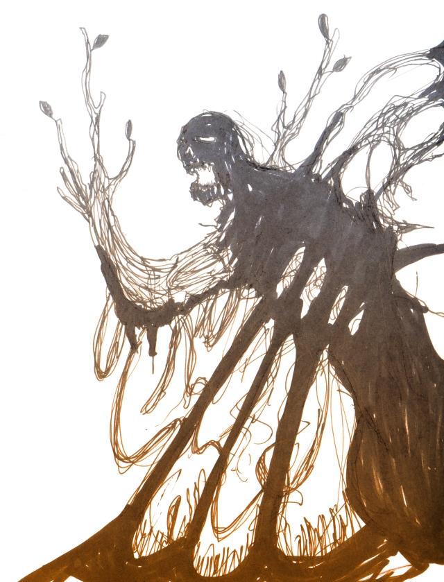 Tof Tree Monst doodle